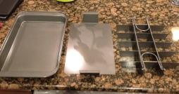 The three-piece pan